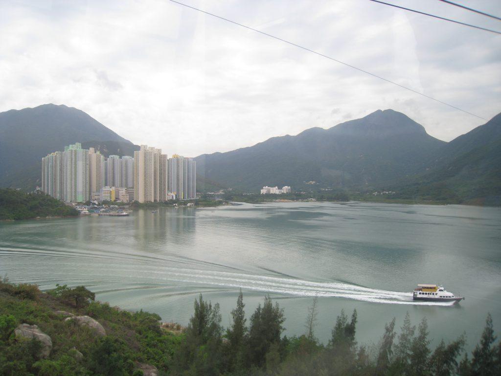 東涌灣自然與城市景觀