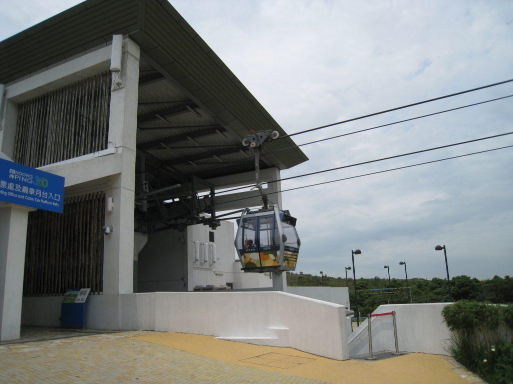昂坪纜車站