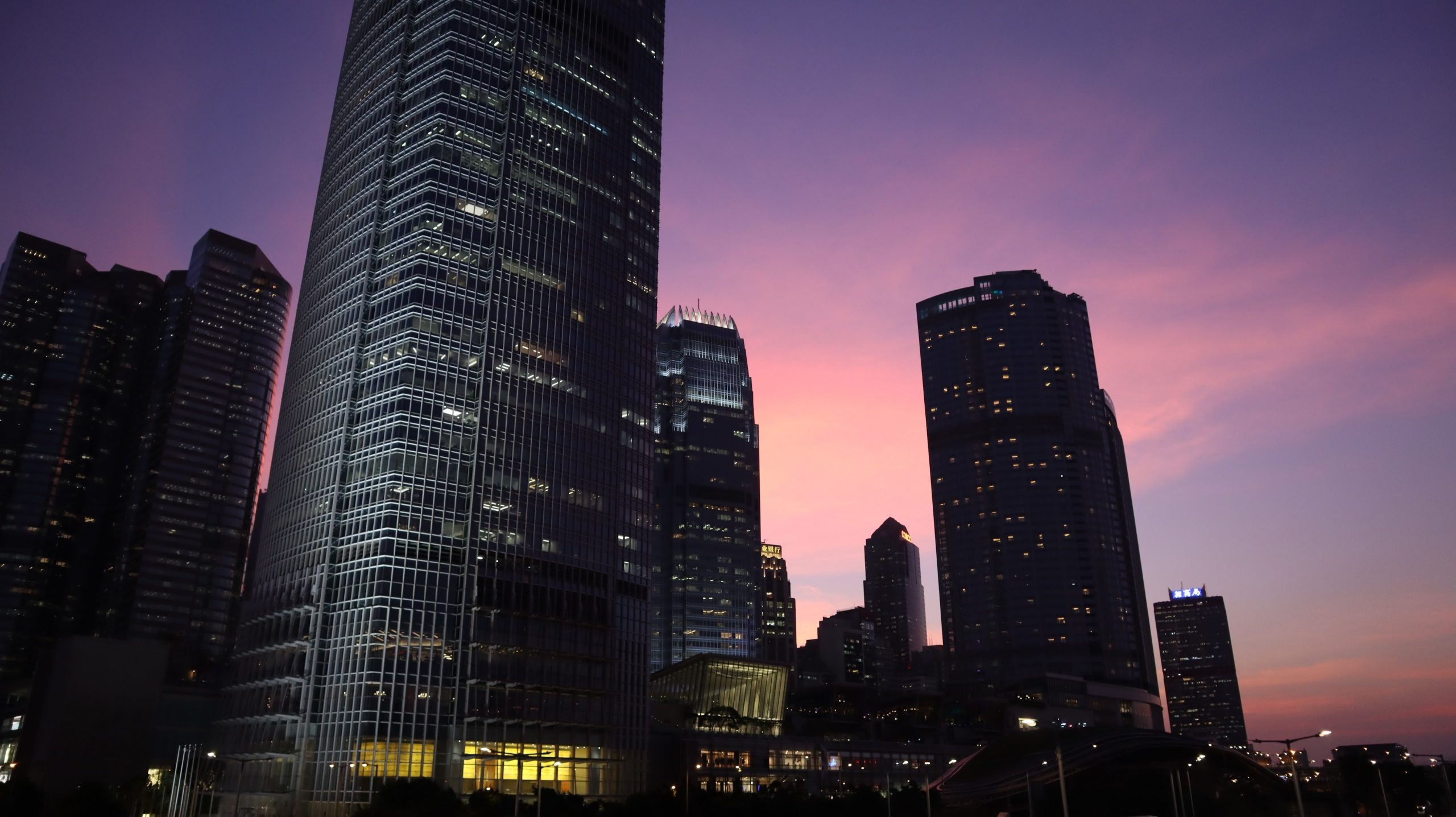 [香港] 中環晚霞餘暉.隨心攝 Twilight in Central