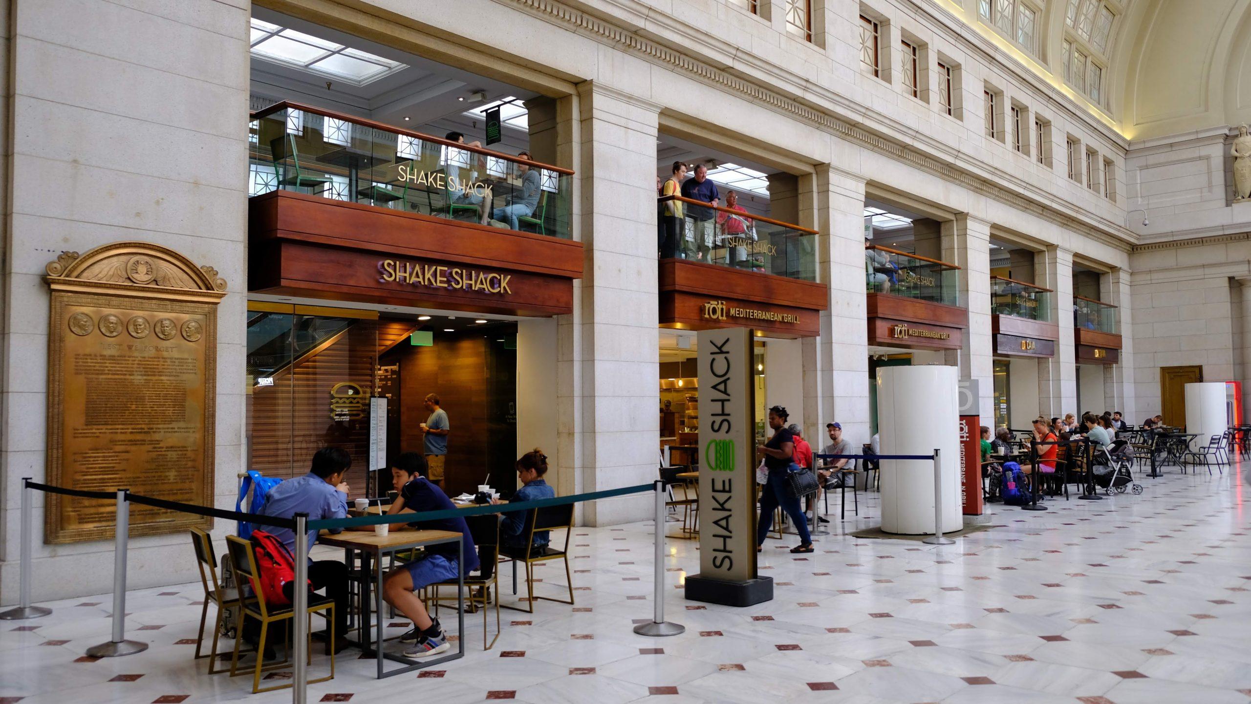 [華盛頓] SHAKE SHACK:超人氣紐約漢堡品牌,選料全天然安格斯牛肉